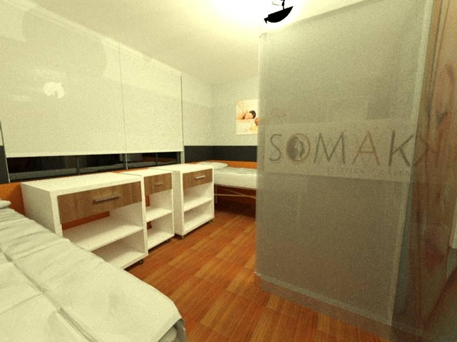 Área compartida: Saunas de estilo  por Inspira