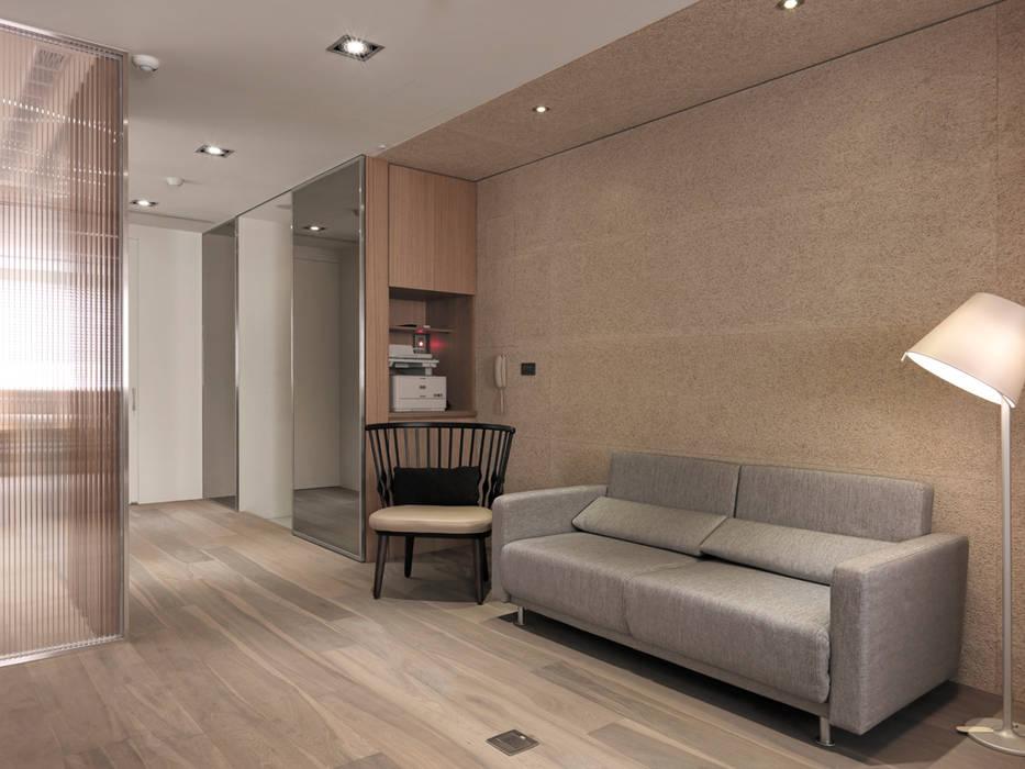 Yongchun MIX:  客廳 by 形構設計 Morpho-Design