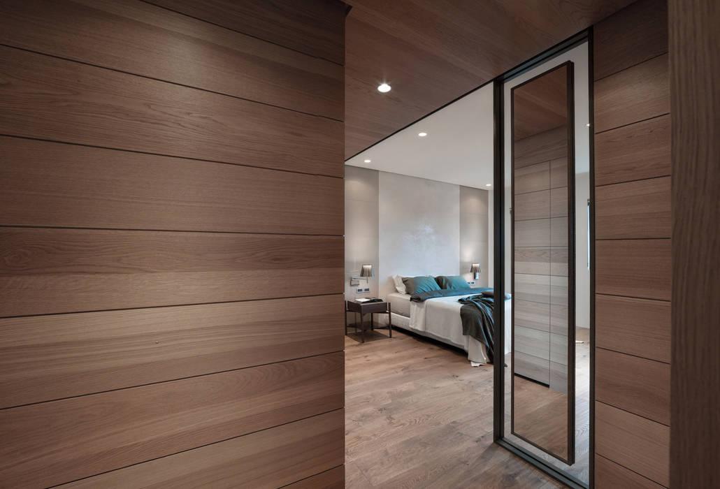 誠泰大院_框景之家 形構設計 Morpho-Design 臥室