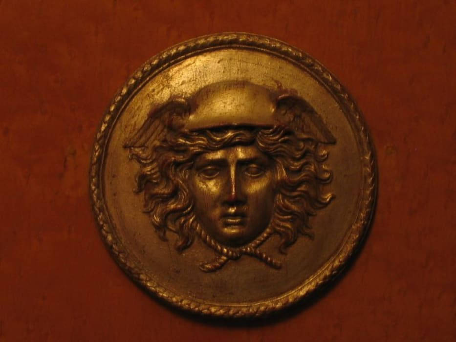 Detail Image of Medallion on cabinetry:  Media room by CKW Lifestyle