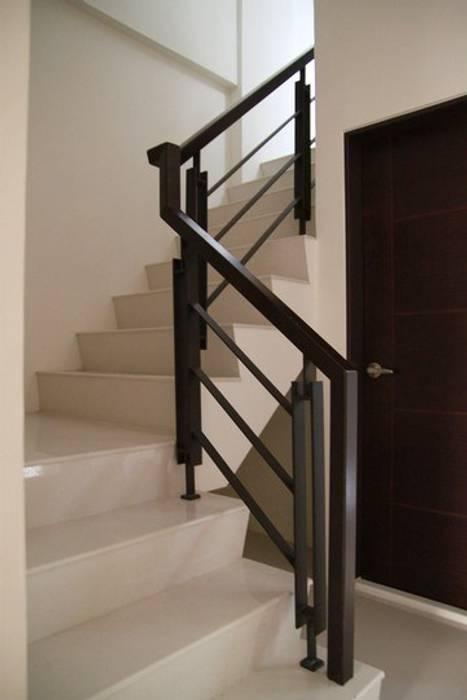 室內樓梯:  樓梯 by 勻境設計 Unispace Designs, 現代風