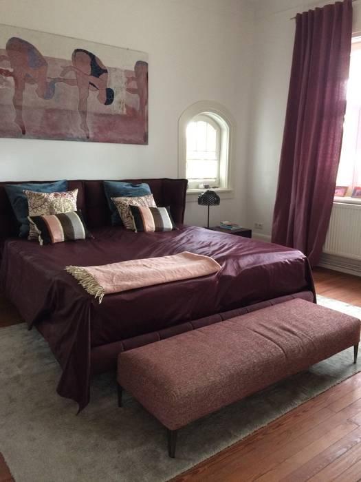 Schlafzimmer in pflaume moderne schlafzimmer von feinstwerk ...