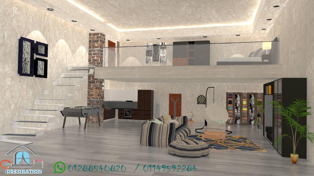 مدخل الشقه :  منازل صغيرة تنفيذ en decoration, حداثي جرانيت