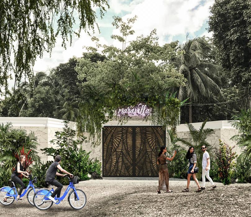 Villas by Obed Clemente Arquitectura, Tropical Concrete