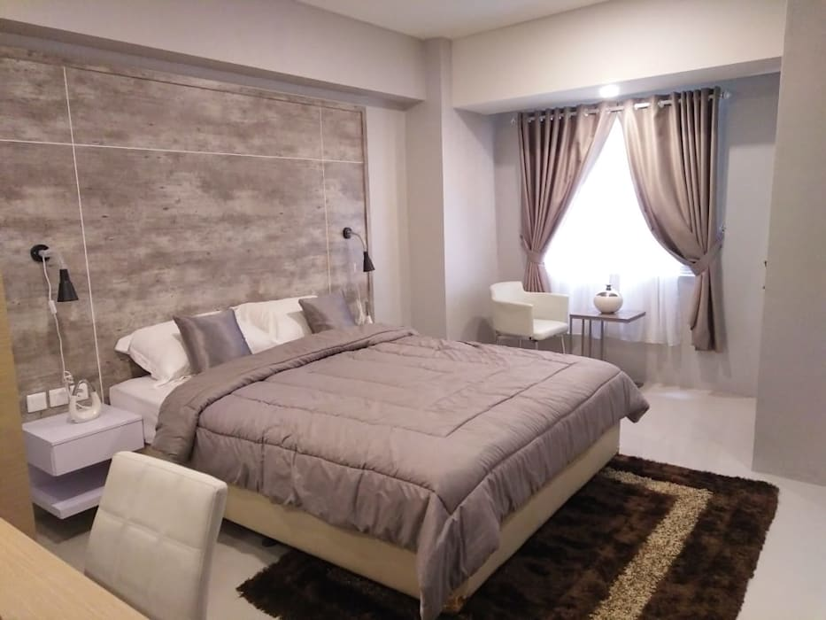 Interior Studio Show Unit Bandara City Apartment:  oleh PT. PANCAR KREASI ABADI,