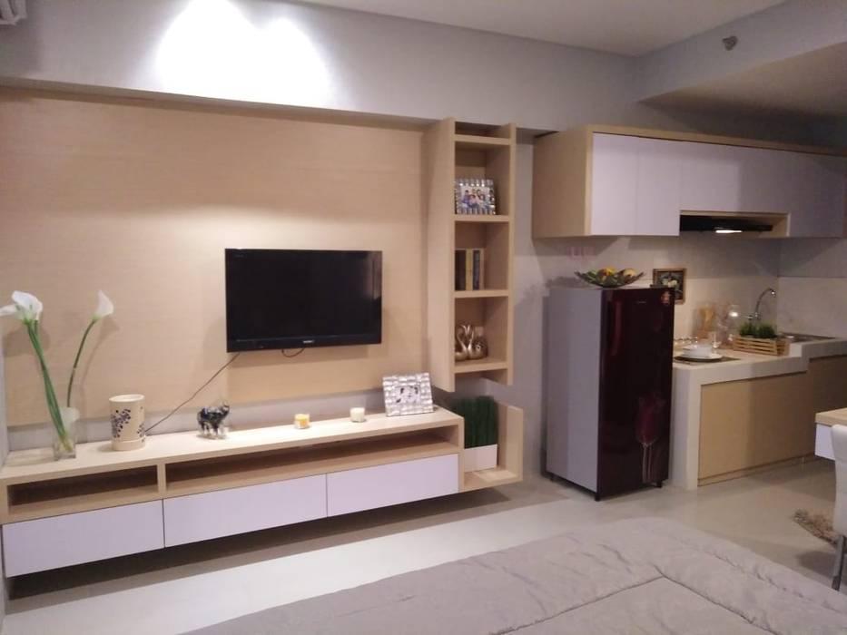 """Interior Studio Show Unit Bandara City Apartment:{:asian=>""""Asia"""", :classic=>""""klasik"""", :colonial=>""""kolonial"""", :country=>""""country"""", :eclectic=>""""eklektik"""", :industrial=>""""industri"""", :mediterranean=>""""mediterania"""", :minimalist=>""""minimalis"""", :modern=>""""modern"""", :rustic=>""""pedesaan"""", :scandinavian=>""""Skandinavia"""", :tropical=>""""tropis""""}  oleh PT. PANCAR KREASI ABADI,"""