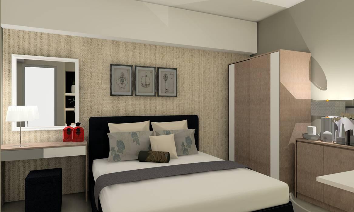 Interior Studio Bandara City Apartment :modern  oleh PT. PANCAR KREASI ABADI, Modern