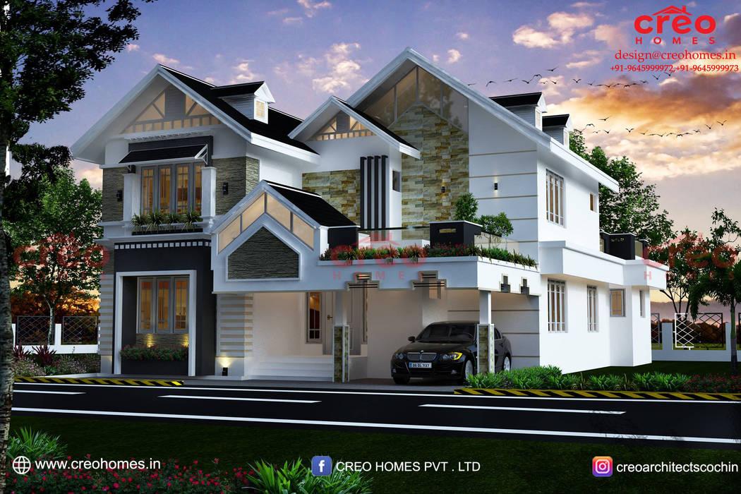 Interior Designers In Kochi:  Balcony by CreoHomes Pvt Ltd