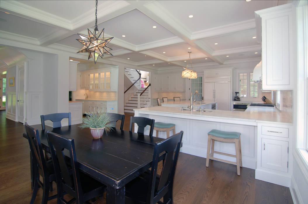 Custom Colonial Home, Westport CT by DeMotte Architects by DeMotte Architects, P.C. Colonial