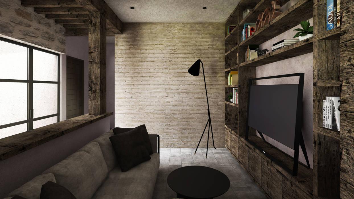 Electrónica de estilo  por Mouret Arquitectura