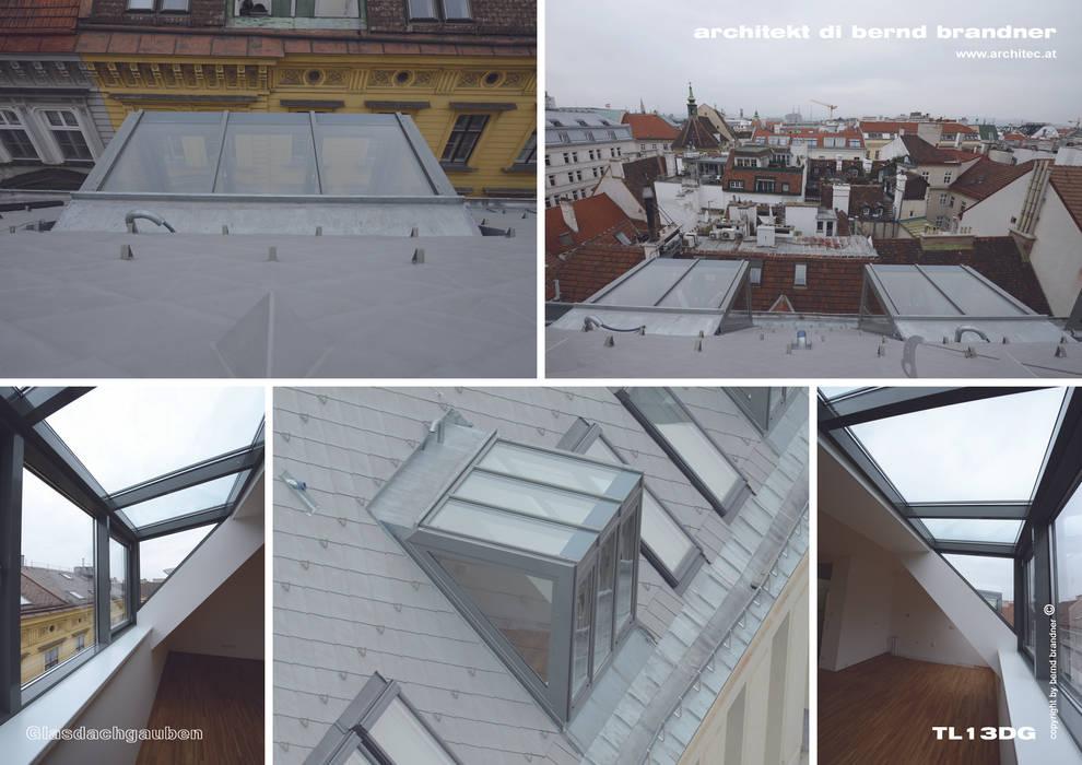 Glasgauben:  Dach von Architekt DI Bernd Brandner