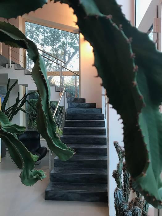trap:  Trap door MEF Architect, Eclectisch Marmer