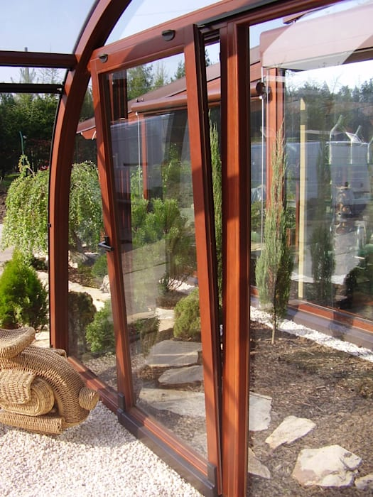 Classic windows & doors by GRACJA SP. Z O.O. Classic Wood Wood effect