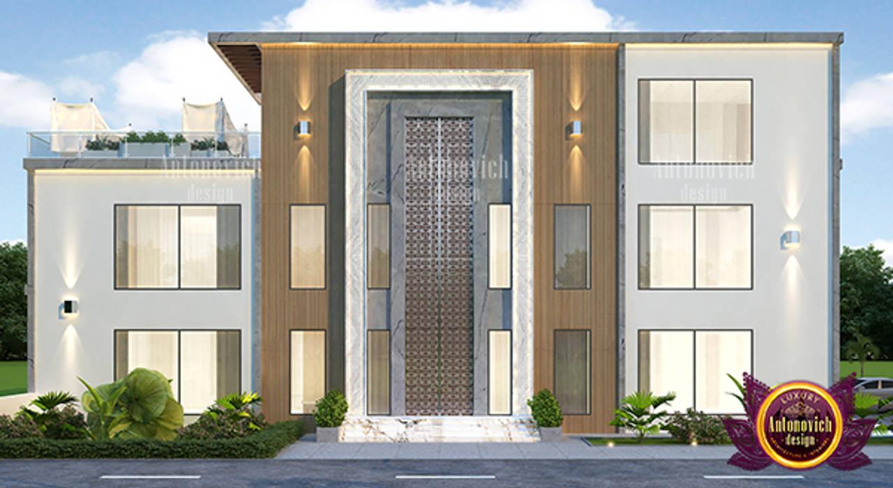 Classic Luxury Home Design by Luxury Antonovich Design