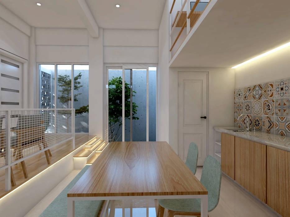 TSforTC House Ruang Makan Tropis Oleh Abil Architect Tropis Kaca