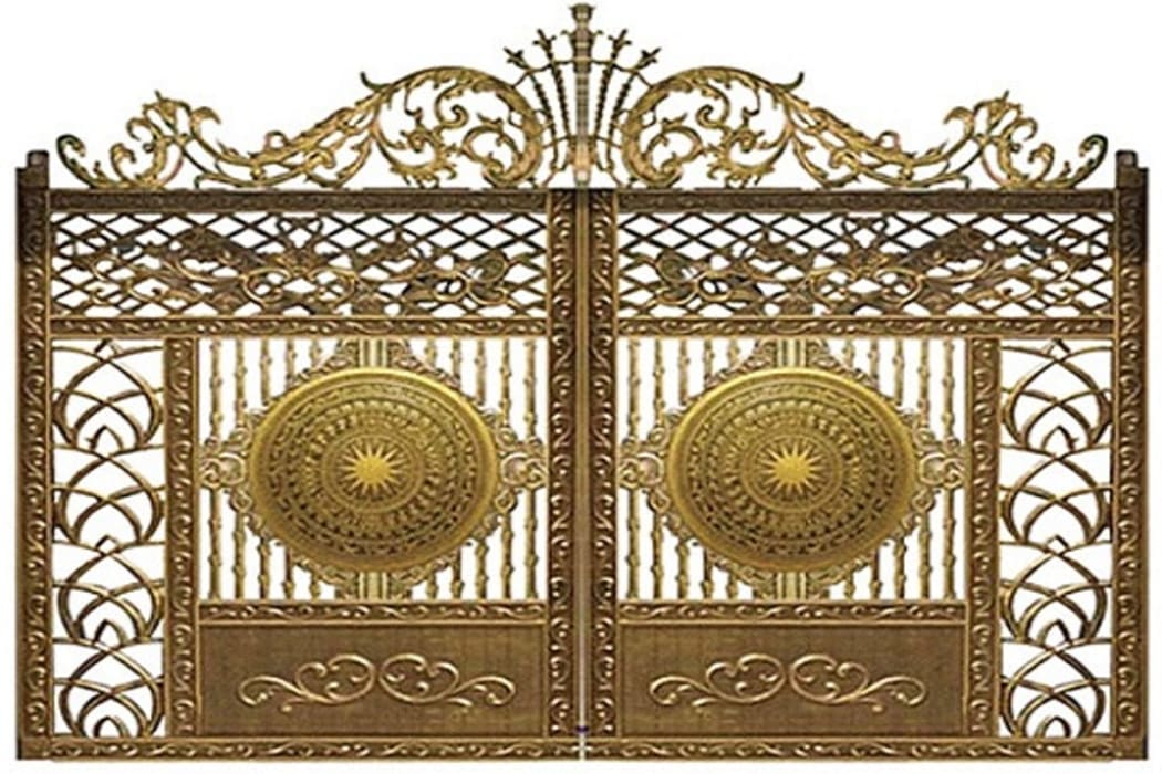 Tư vấn thiết kế cửa cổng nhôm đúc hợp phong thủy Nhà kính phong cách mộc mạc bởi CÔNG TY CỔ PHẦN SẢN XUẤT HOÀNG GIA HÀ NỘI Mộc mạc Sắt / thép