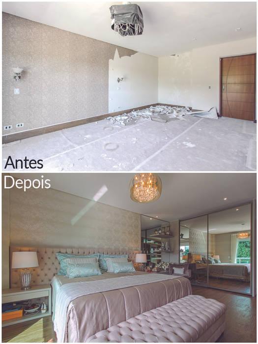 Antes e Depois por Samantha Sato Designer de Interiores