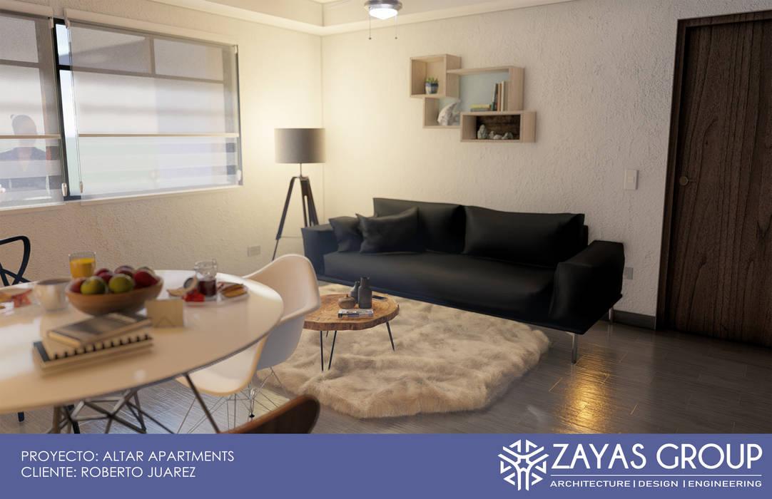 Sala/estancia: Salas de estilo  por Zayas Group