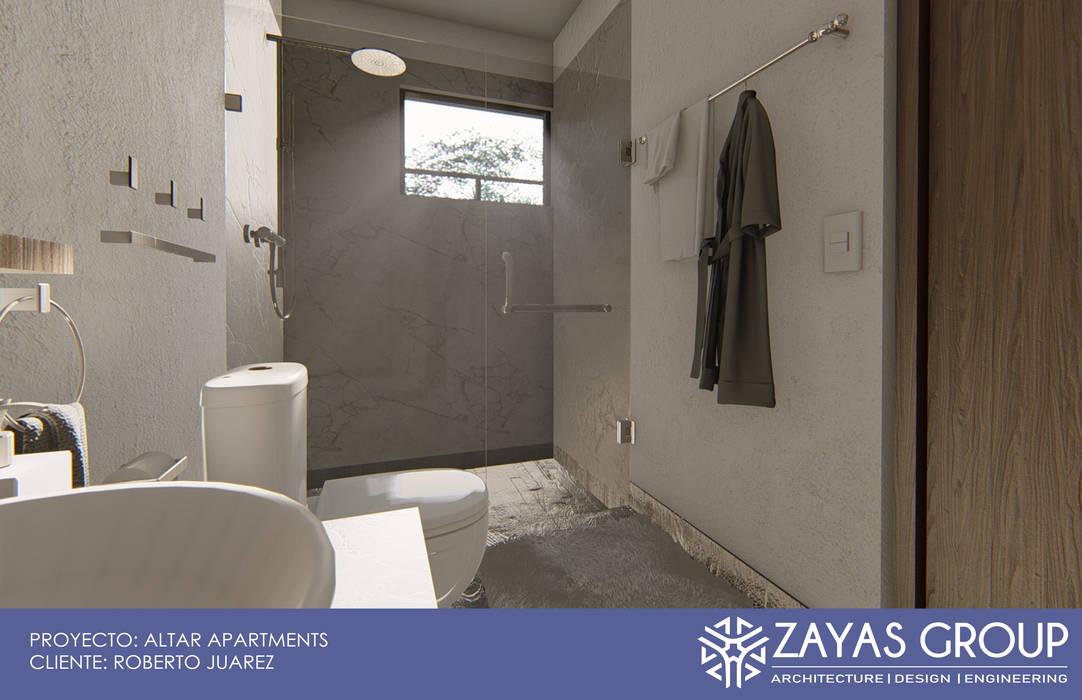Baño tipo Baños de estilo moderno de Zayas Group Moderno