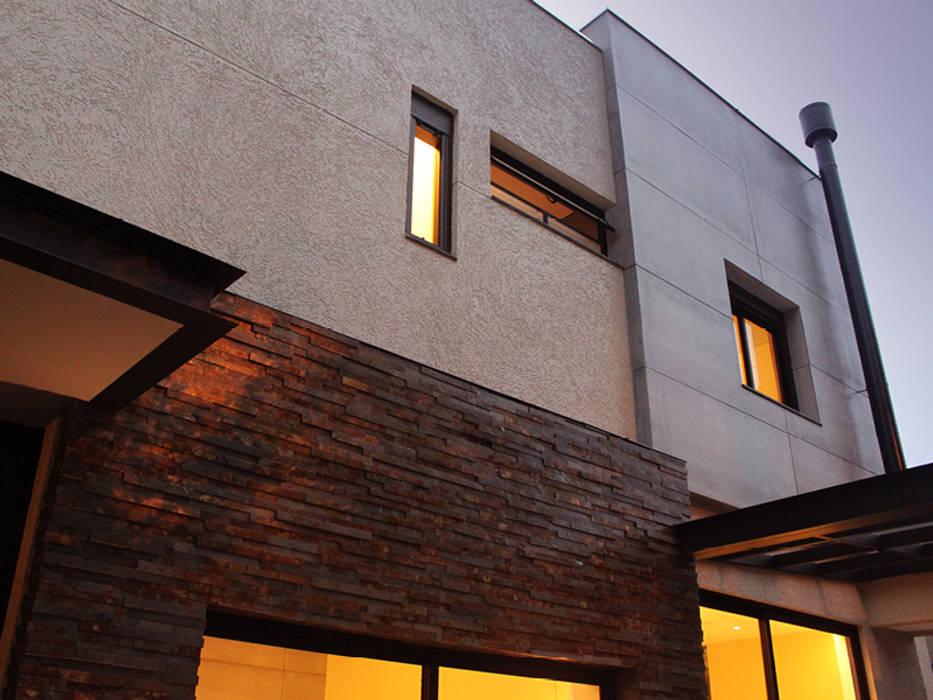 Depois da Reforma: Nova Fachada:   por Marcos Takiguthi Arquiteto