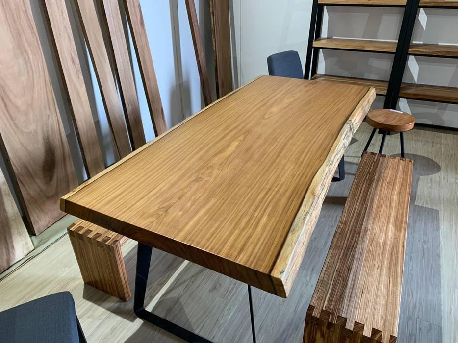 過新年,桌板帶回家,製材所給您最溫馨的選擇: 不拘一格  by 製材所 Woodfactorytc, 隨意取材風