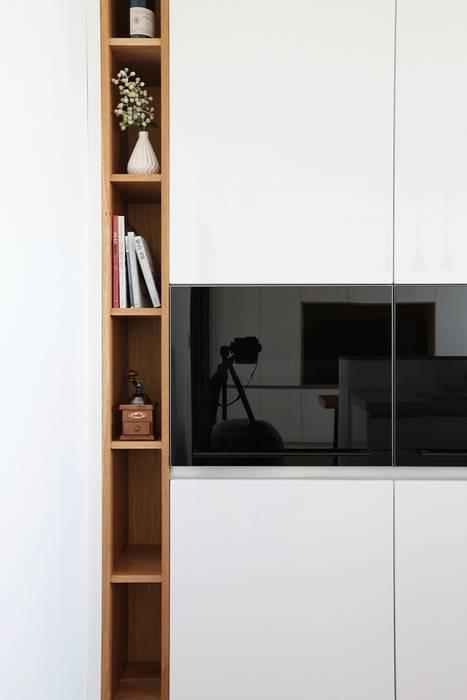 단순한 것이 아름답다_판교힐스테이트인테리어 더집디자인 (THEJIB DESIGN) 모던스타일 주방