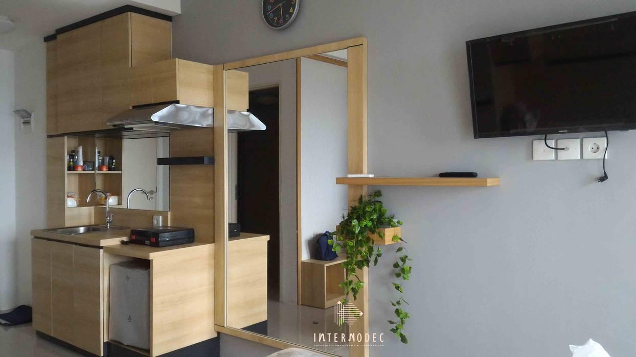 Dapur: Dapur oleh Internodec, Minimalis