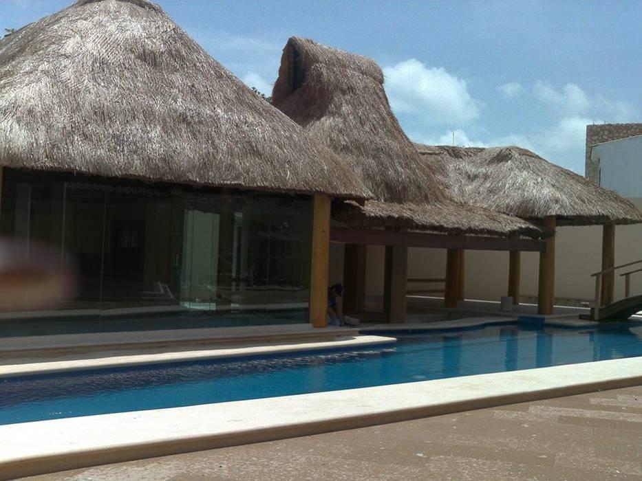 Garden Pool by SG Huerta Arquitecto Cancun ,