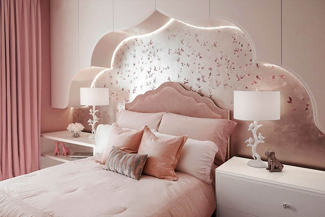 Girls' Bedroom - 86th Street New York Modern Kid's Room by Joe Ginsberg Design Modern