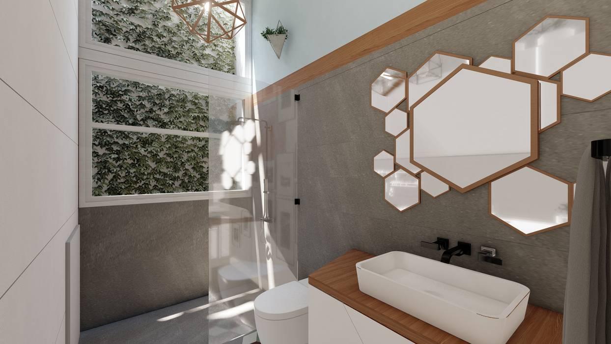 Baño: Baños de estilo  por Rodrigo León Palma