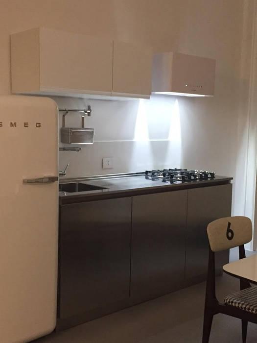 Cucine piccole e piani di lavoro cucina moderna di steellart ...