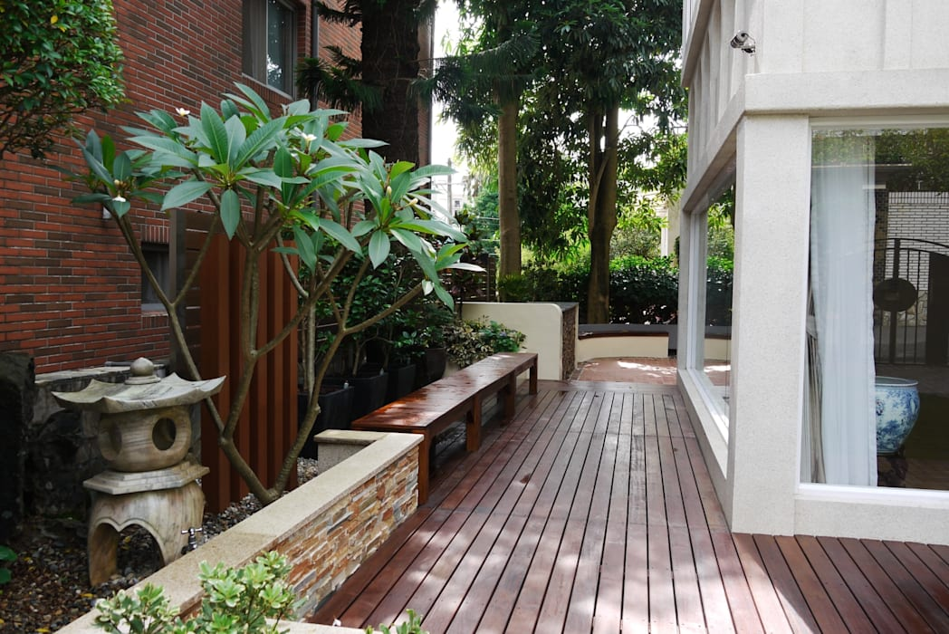 Front yard by 大地工房景觀公司