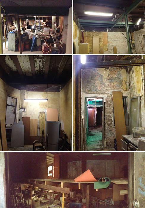 Vip Dekorasyon – Eski Bir Atolyenin Yaşanabilir Mekana Dönüşümü:  tarz Duvarlar