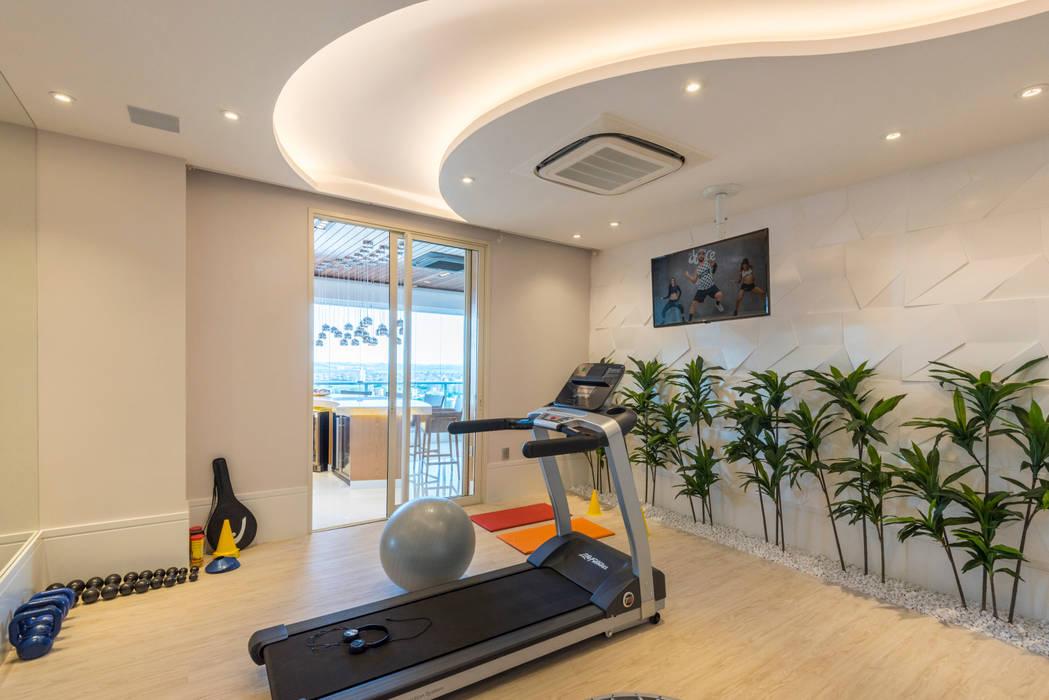 Ruang Fitness oleh Designer de Interiores e Paisagista Iara Kílaris