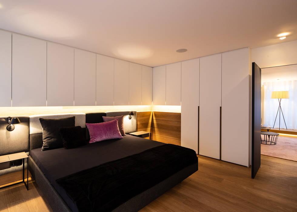 Modernisierung 50er altbauwohnung moderne schlafzimmer von ...