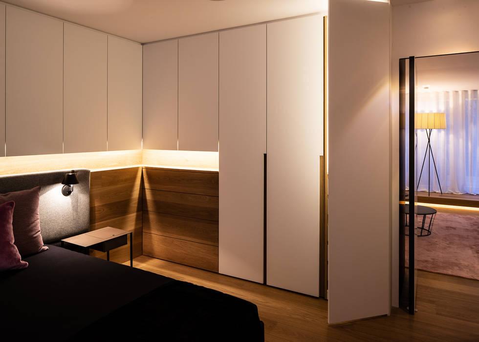 Modernisierung 50er altbauwohnung: schlafzimmer von schulz ...