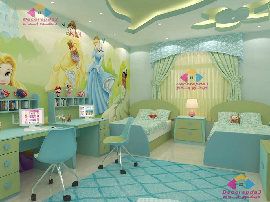 :  غرفة الاطفال تنفيذ ديكور ابداع
