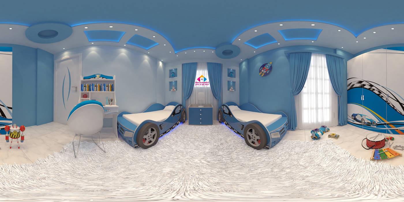 :  غرفة نوم أولاد تنفيذ ديكور ابداع