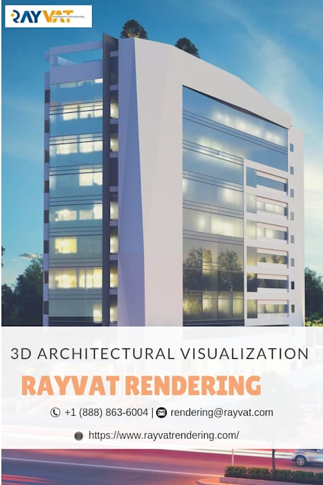 3D Architecture Visualization by Rayvat Rendering Studio