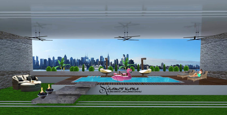 SKY İç Mimarlık & Mimarlık Tasarım Stüdyosu Front yard