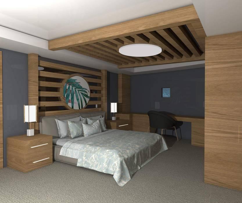 Yat Kamarası Modern Yat & Jetler SKY İç Mimarlık & Mimarlık Tasarım Stüdyosu Modern