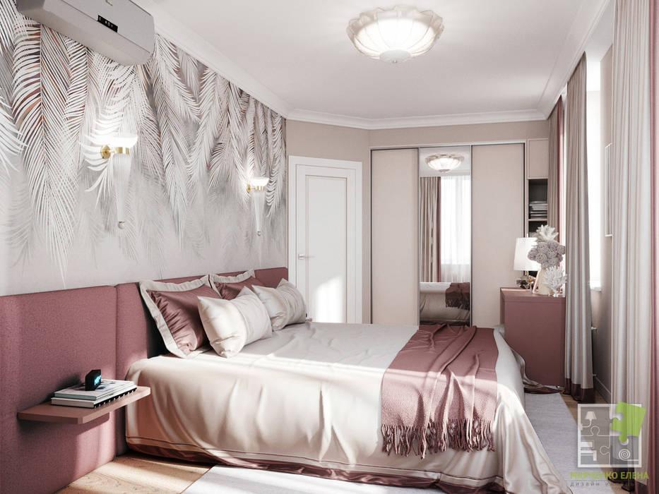 Dormitorios de estilo ecléctico de Елена Марченко (Киев) Ecléctico