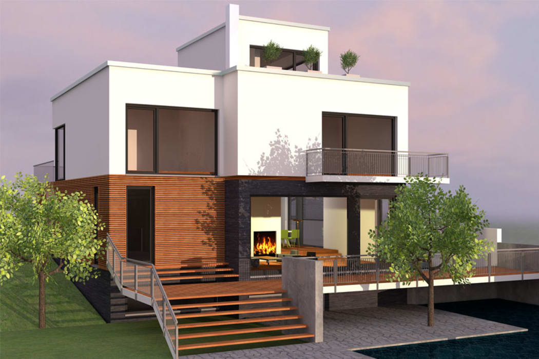 Small houses by Aone Interior Designer Jaipur, Modern