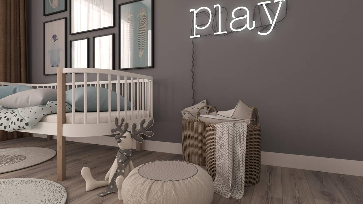 Rengin Mimarlık – Bebek Odası:  tarz Bebek odası,