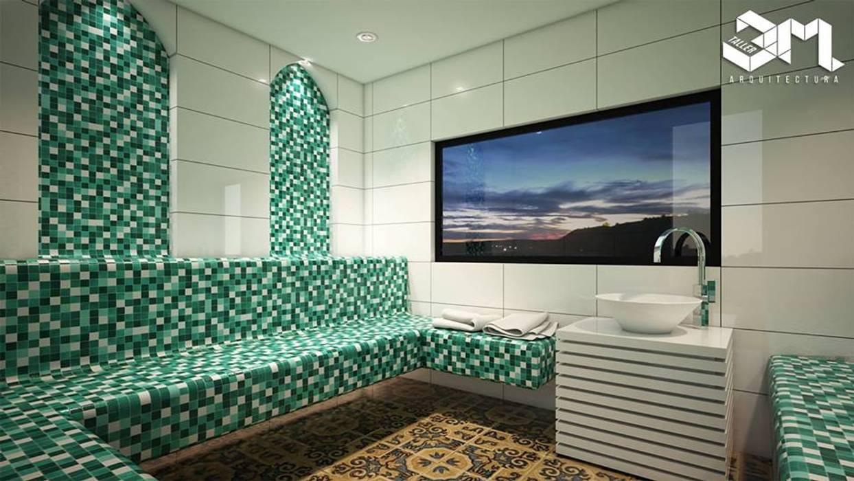 Baño turco / Proyecto BRISAS DEL RÍO - República Dominicana de Taller 3M Arquitectura & Construcción Ecléctico