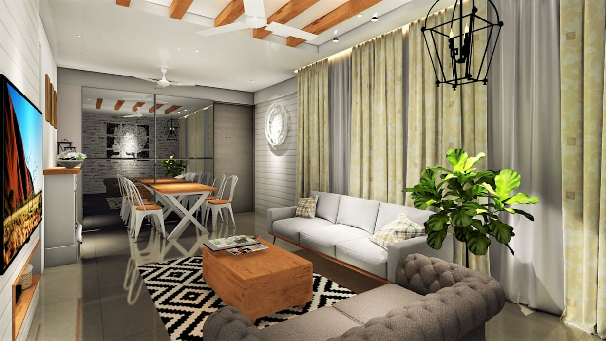 Living Room Country Style Living Room By Design Evolution