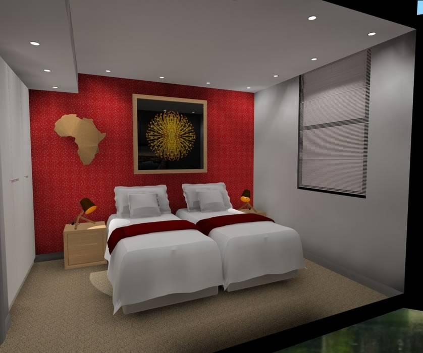 2nd bedroom:  Bedroom by AB DESIGN