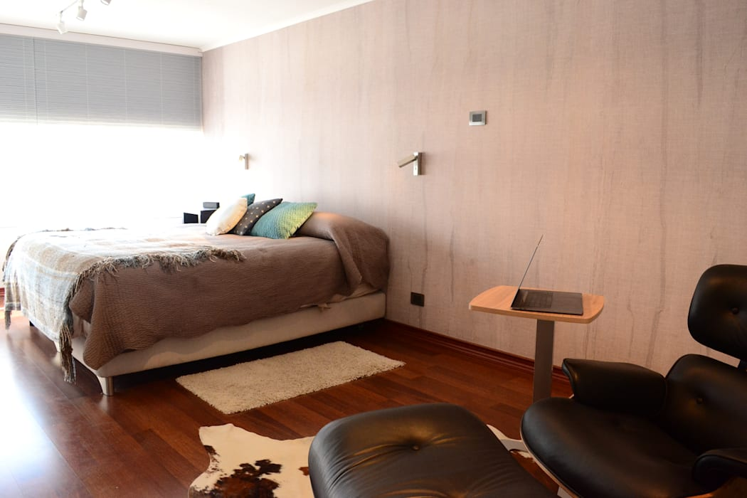 HABITACION PRINCIPAL de Kaa Interior   Arquitectura de Interior   Santiago