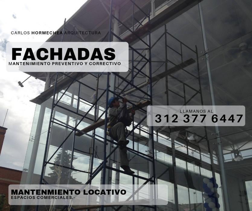 MANTENIMIENTO LOCATIVO de CARLOS HORMECHEA ARQUITECTURA Moderno