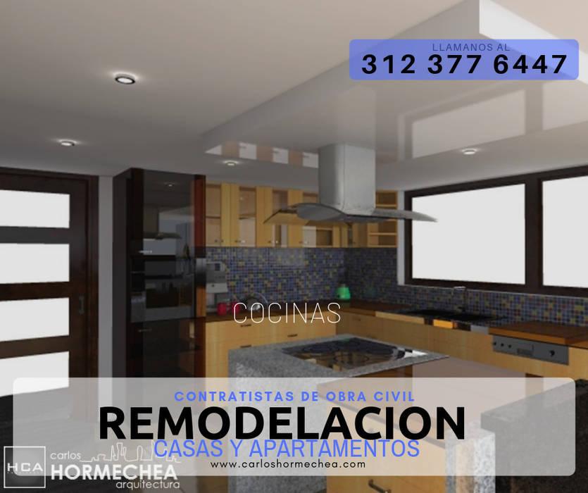 REMODELACION de CARLOS HORMECHEA ARQUITECTURA Moderno